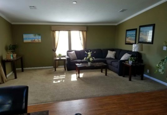 The Islander model living space