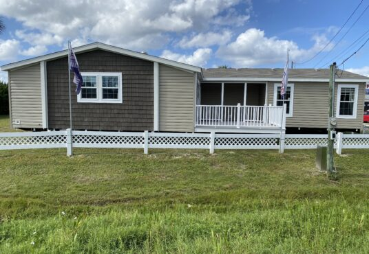 Prestige Home Centers the Tracy with porch